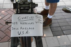Hand-lettered Curtiss info (Zoom Lens) Tags: horse bike ride wheels motorcycles bikes scooter exhibit exhibition cycle motorcycle motor sickle sled sleigh putt motorcycleshow 125 bbbb ridefree motorcycleevent ridingintohistory motorcycleexhibition motorcycleexhibit roadwhore johnrussellakazoomlens copyrightbyjohnrussellallrightsreserved nipplefreak ridingintohistory2013 14thannualridingintohistory vintageandantiquemotorcycles worldgolfvillageworldgolfhalloffamesaintaugustineflorida