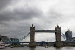 Tower Bridge (Look at the view) Tags: uk london thames clouds towerbridge river stormy