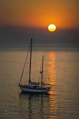 Amanecer 12/06/2013 (Sento MM) Tags: barco playa alicante amanecer sanjuan