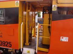 Colas Rail 73925 'Europa' - Plasser & Theurer 08-16/4x4C100-RT Tamper (duffpete) Tags: 12thjune2013 peterborough colasrail 73925europa plassertheurer 08164x4c100rttamper ontrackplant