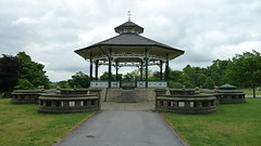 The Bandstand Greenhead Park Huddersfield Yorkshire (woodytyke) Tags: friends yorkshire north history picture photo photograph photography foto woodytyke england english britain british isles united kingdom uk stone family century west huddersfield belvedere war memorial cross steps column light railway great sir john ramsden cafe childrens playground ornamental lake bandstand paddling pool the arbour victorian town wool woollen industry stephen woodcock camera best composition digital phone colour flickr image photographer publish print buy free licence book magazine website blog instagram facebook commercial