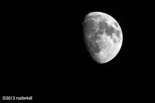 Moon - 75% illuminated