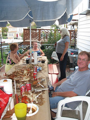 Brush Crabfeast 18 (tineb07) Tags: friends party food howard colleen brush kelly natalie dolores 2010 nock sanza