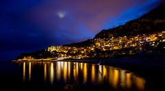 Cap d'Ail Moonrise (Dan Haug) Tags: moonrise capdail monaco coast provence france ef1635mmf28liiusm 5dmkii canon eos sunset mediterranean explore explored presidentsclub