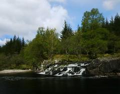 Down by the river (explore) (kenny barker) Tags: scotland explore bridgeoforchy scottishlandscape riverorchy landscapeuk panasoniclumixgf1 kennybarker