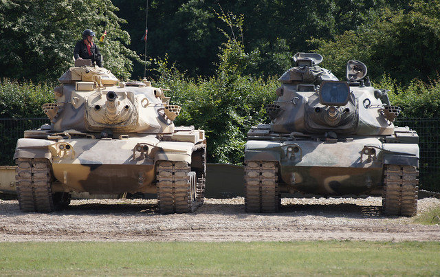 M60A3 and M60A1