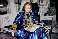 Movie Star Bette Davis is Aloof and Strangely Alone on the Set (Walker Dukes) Tags: california blue red people woman black green film beautiful television yellow photoshop canon hair gold book screenshot chair dress cigarette goddess cyan jewelry smoking photograph hollywood actress movies filmstill filmstills actor ash script gown gowns smoker diva eveninggown tcm moviestills moviestill screenplay tvshot turnerclassicmovies recolored moviestars tvshots oldmovies photomatix oldhollywood picturesofthetelevision xti abigfave canonxti televisionshot