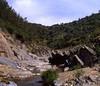 rio guadiatillo (Rafael Jiménez) Tags: españa río landscape spain 1987 paisaje slides córdoba diapositivas sierramorena aboutiberia ríoguadiatillo guadiatillo