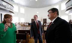 07-30-13 Governor Bentley visits Monroeville as Part of Road to Economic Recovery Tour