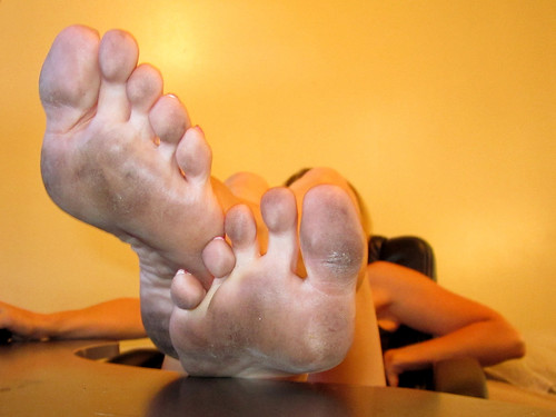 Dirty sexy soles