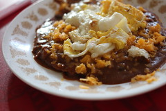 Sloppy, super heavy and WORTH IT: (vegetarian) New Mexican enchiladas (happykatie) Tags: food cooking enchiladas newmexicanfood hungrykatie wwwhungrykatiecom