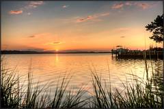Ocean Pines Sunrise (MurrayH77) Tags: ocean city md hdr photomatix 3exp 450d