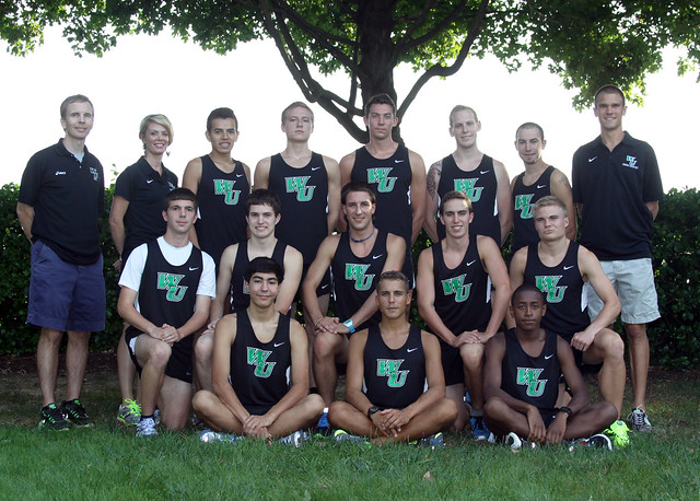 The Wilmington University men's cross country team. Copyright 2013; Wilmington University. All rights reserved.