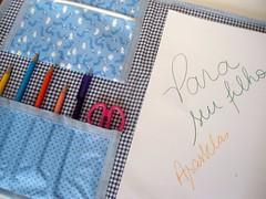 (Andreza Muniz) Tags: pasta criana bolsa desenho tecido costura acessrios asasbelas