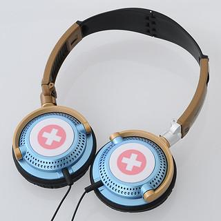 喬巴風折疊式立體聲耳機推薦!