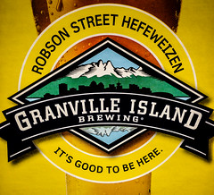 Granville Island Brewing Robson Street Hefeweizen Ale Vancouver BC Canada (mbell1975) Tags: street canada beer vancouver brewing island bc granville britishcolumbia ale columbia canadian robson british bier hefeweizen