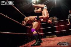 Mark Haskins vs Iestin Rees (Oli Sandler) Tags: storm dj ar wrestling drew jr hyde sabre fox jonny zack marty ricochet broxbourne gulak ipwuk scurll vision:night=062