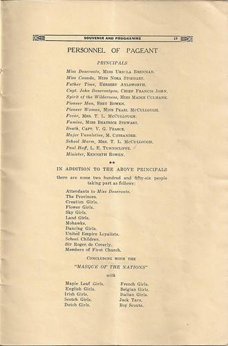 Loyalist Celebrations Programme (p.19)