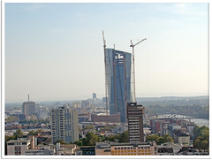 Frankfurt am Main - Neubau der Europäischen Zentralbank