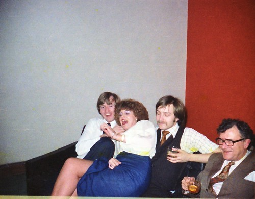 IMS Staff Redcar Teeside Maria Poulter & Gordon White 1980 122 Kevin Hughes and Les Richards