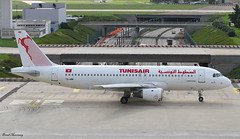 Tunisair A320-200 TS-IMM (birrlad) Tags: morning sunlight paris france reflection glass airplane airport ramp glare terrace taxi aircraft aviation airplanes jet terminal apron airline airbus airways airlines runway viewing orly airliner a320 taxiway a320200 tunisair a320211