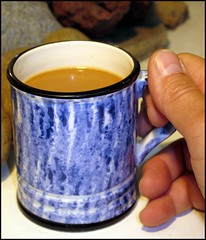 Schmid Folio Design Coffee Cup (greenthumb_38) Tags: blue cup coffeecup mug secondhand schmid junkstore bluecup bluemug cuoofcoffee jeffreybass canong12 scmidfolil schmidfoliodesign
