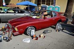 Dia De Los Muertos (KID DEUCE) Tags: show california park classic car de los antique dia muertos custom bomb lowrider canoga kustom 2013