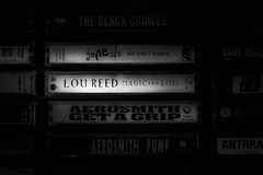 lou reed magic and loss cassette tape (timp37) Tags: reed loss radio jay magic host tape lou cassette marvin 1990s