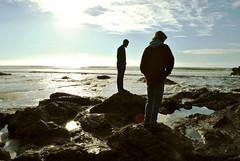 Held (Alexis Snyder) Tags: ocean men beach nature model rocks tide pools