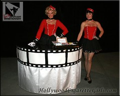 vintage cigarette girls (SDSpotlightEnt) Tags: classic girl vintage table living los san dolls candy desert angeles cigarette champagne diego palm spotlight entertainment human springs hollywood tables tribute bella bling gliding diva talented divas strolling