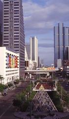 Thailand - Bangkok - Room with a view (railasia) Tags: 2003 panorama skyline thailand bangkok siemens infra bts cityline chongnonsi emu3 silomline elevatedstructure metrosubwayunderground routenº2