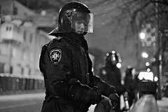 Riot police blocking the way to the parliament building on Sunday night (mac_ivan) Tags: riot protest eu police ukraine soldiers kiev        vision:mountain=0581 vision:outdoor=0691  euromaidan