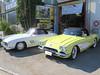 14 Corvette C1 Bj 59 und Mercedes 300SL Bj 60 01