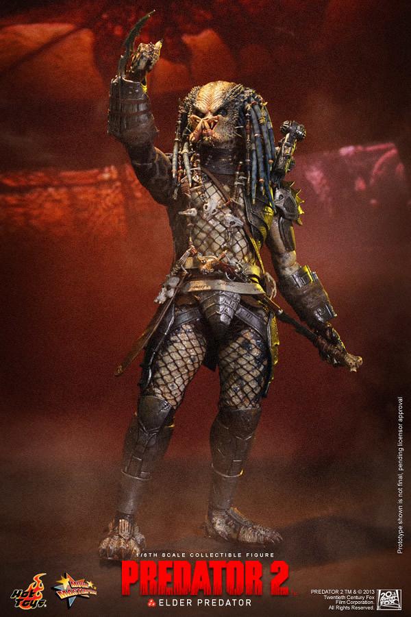 Hot Toys - MMS233 - 終極戰士 2: 1/6 比例 終極戰士長老