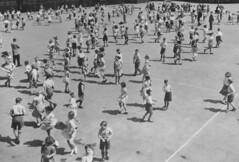 The Main Display (theirhistory) Tags: school girls boys playground children dancing