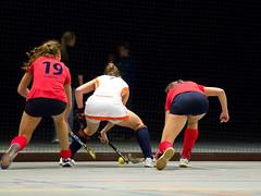 P1023319 (roel.ubels) Tags: hockey sport nederland indoor dusseldorf hc oranje 2014 oefenwedstrijd zaalhockey valkenhuizen
