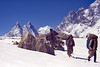 Pakistan_1993_18_Porters on the upper Biafo glacier (BB-43) (Roger Nix's Travel Collection) Tags: pakistan karakoram snowlake karakorum biafo