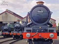 Trains at Didcot