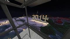 Welcome 2014 (GumbyBlockhead) Tags: newyears 2014 signofthetimes horsiefieldcastle