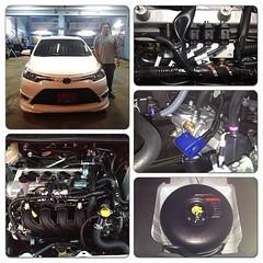 Vios โดนัท 42 ลิตร สามารถชมงาน ติดตั้งแก๊ส LPG ได้ที่ Nine Auto Service ลำลูกกา คลอง 6 โทร 084-9383802 http://www.facebook.com/nineautoservice.2011