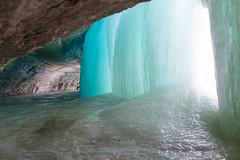 Blue Ice (Samantha Polski) Tags: winter cold ice minnesota fun frozen waterfall burr mn tundra minnehaha minnehahafalls d600