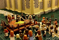 Off with her Head (peggyjdb) Tags: lego toweroflondon execution anneboleyn