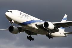 Boeing 777-258ER ELAL 4X-ECC (NTG842) Tags: airport aircraft tel aviv planes boeing lhr elal egll 777258er 4xecc ly315