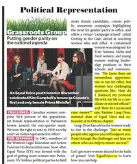 "Canadian Living Article about an Equal Voices event celebrating Kim Campbell - Penny was a moderator • <a style=""font-size:0.8em;"" href=""http://www.flickr.com/photos/21584185@N07/12521256995/"" target=""_blank"">View on Flickr</a>"