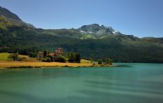 Chteau Crap da Sass Silvaplana Grisons (Meinrad Prisset) Tags: alpes schweiz switzerland nikon suisse chteau paysages montagnes silvaplana grisons swizzera nikond800 cantondesgrisons afsnikkor2485mmvr