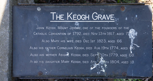St. Kevin's Church And Churchyard - The Moore Grave