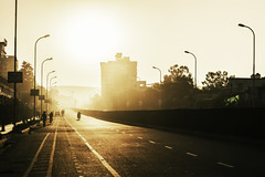 Start of a Long Day (Madhav Vasudev) Tags: morning sun india jaipur