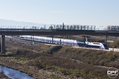 TGV per la LAV a Mollet (Escursso) Tags: barcelona paris train tren spain ave esp tgv riu mollet besòs molletdelvallès