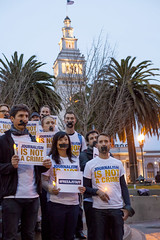 Al Jazeera America: Global Day of Action (AJEDCPR) Tags: sanfrancisco california usa aljazeera unitedstates protest northamerica vigil journalism ajam globaldayofaction aljazeeraamerica freeajstaff