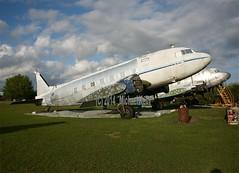 Douglas DC-3                 N133D (Flame1958) Tags: florida douglas dc3 dakota dak 2014 gooneybird 0314 shellcreek f13 120314 n133d